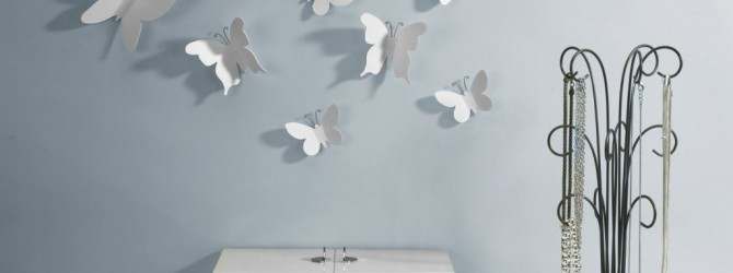 Бабочки в интерьере своими руками
