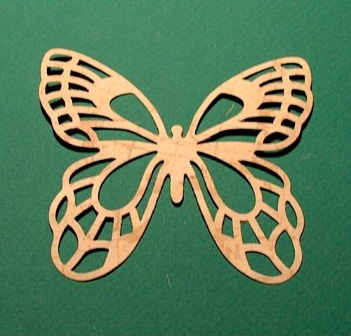 Бабочка ажурная своими руками