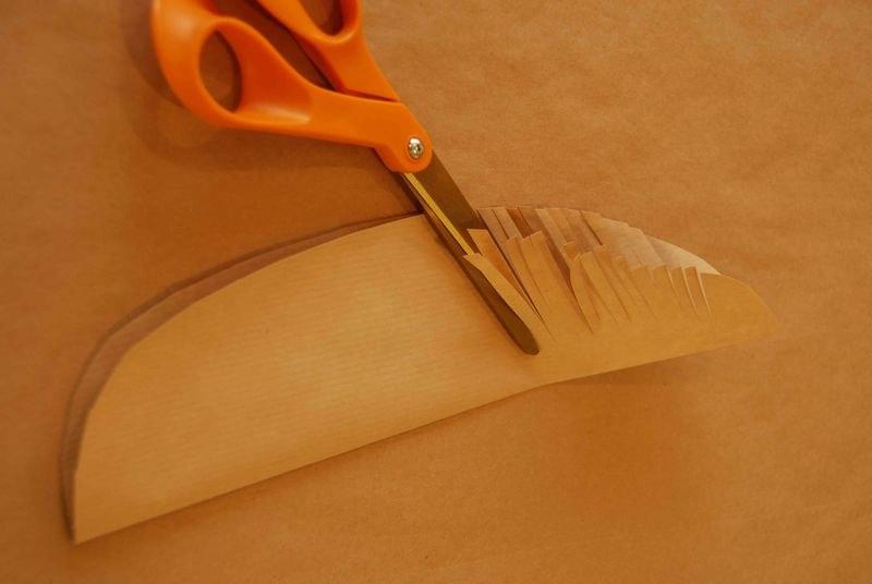 Как сделать пальму из бумаги своими руками видео