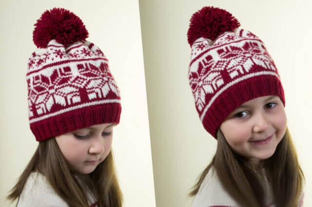 Вяжем тунику и шапочку на девочку 5-7 лет