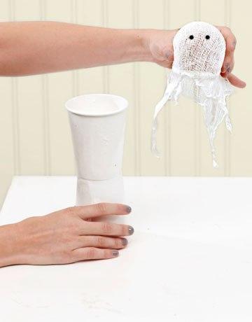 Как сделать приведения из резинок