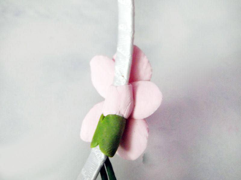 Как сделать цветы их холодного фарфора своими руками