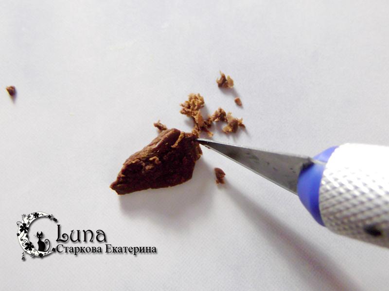 Сделать брелок из полимерной глины