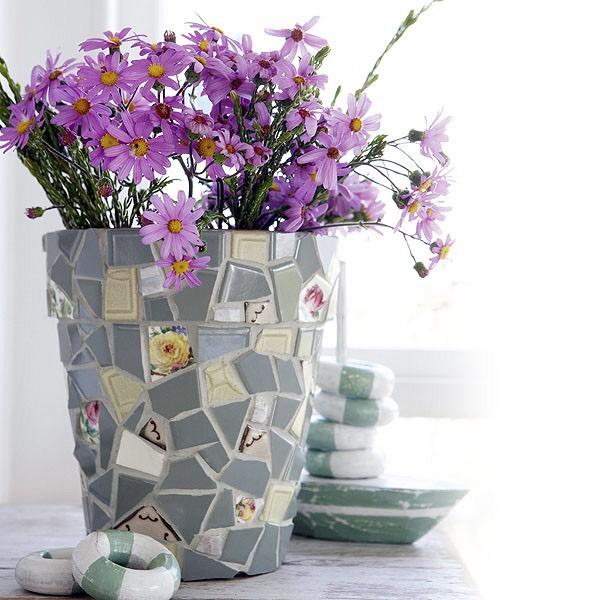 Как можно украсить цветочные