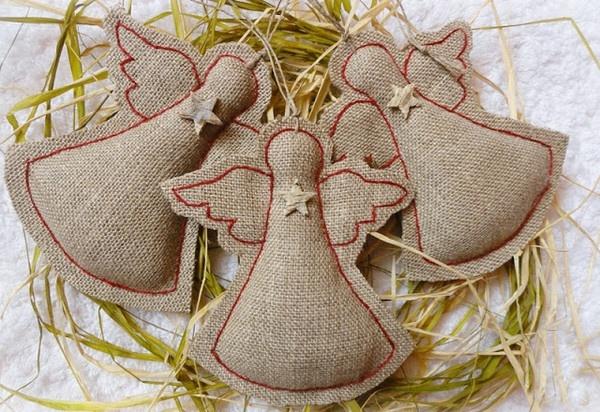 Поделки ангелочков своими руками из ткани