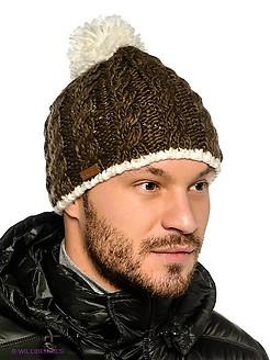 вязание мужской шапки спицами с описанием и фото