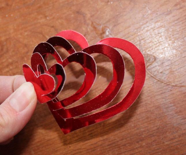 Оригинальная валентинка своими руками фото