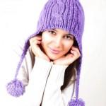 Вяжем модные женские шапки