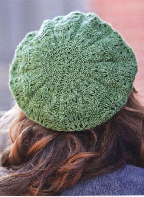 Вяжем женские модные шапки фото