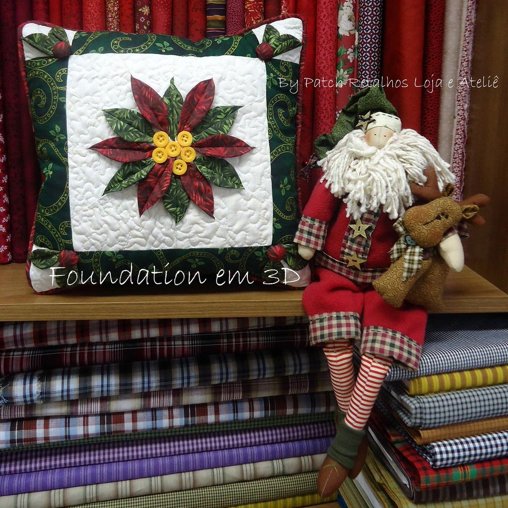 Лоскутное шитьё подушки со схемами