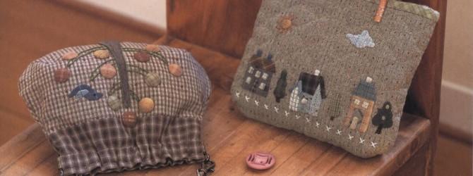 Лоскутное шитьё сумок в технике пэчворк