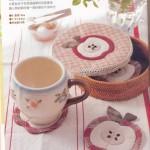 Японский пэчворк для кухни с выкройками