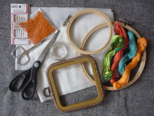 Уроки вышивания