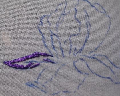 Вышивка рисунки пошагово