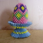 Виды яиц оригами