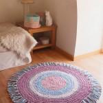 Красивые коврики из старых вещей — как дать старым вещам новую жизнь