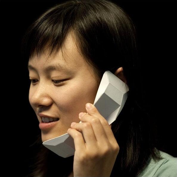 Телефон оригами