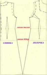 Длинное платье мастер-класс
