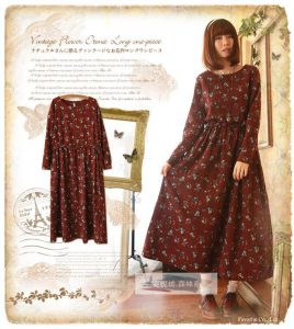 Японские выкройки платья в стиле бохо