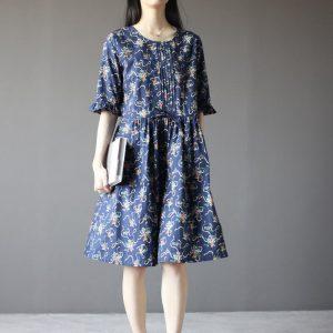 Как сшить повседневное платье бохо