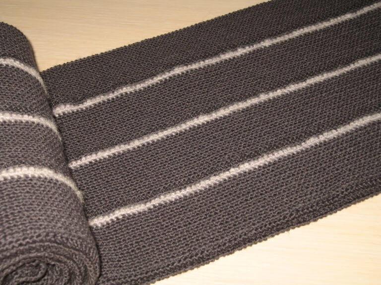 Как выбрать пряжу для мужского шарфа?