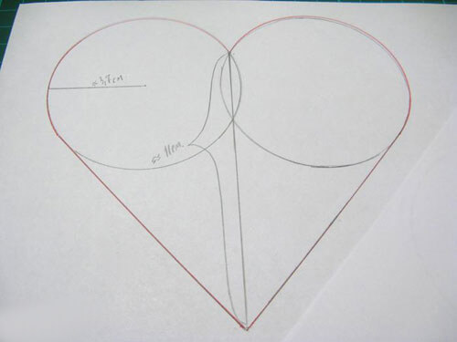 Коробочка-сердце из картона