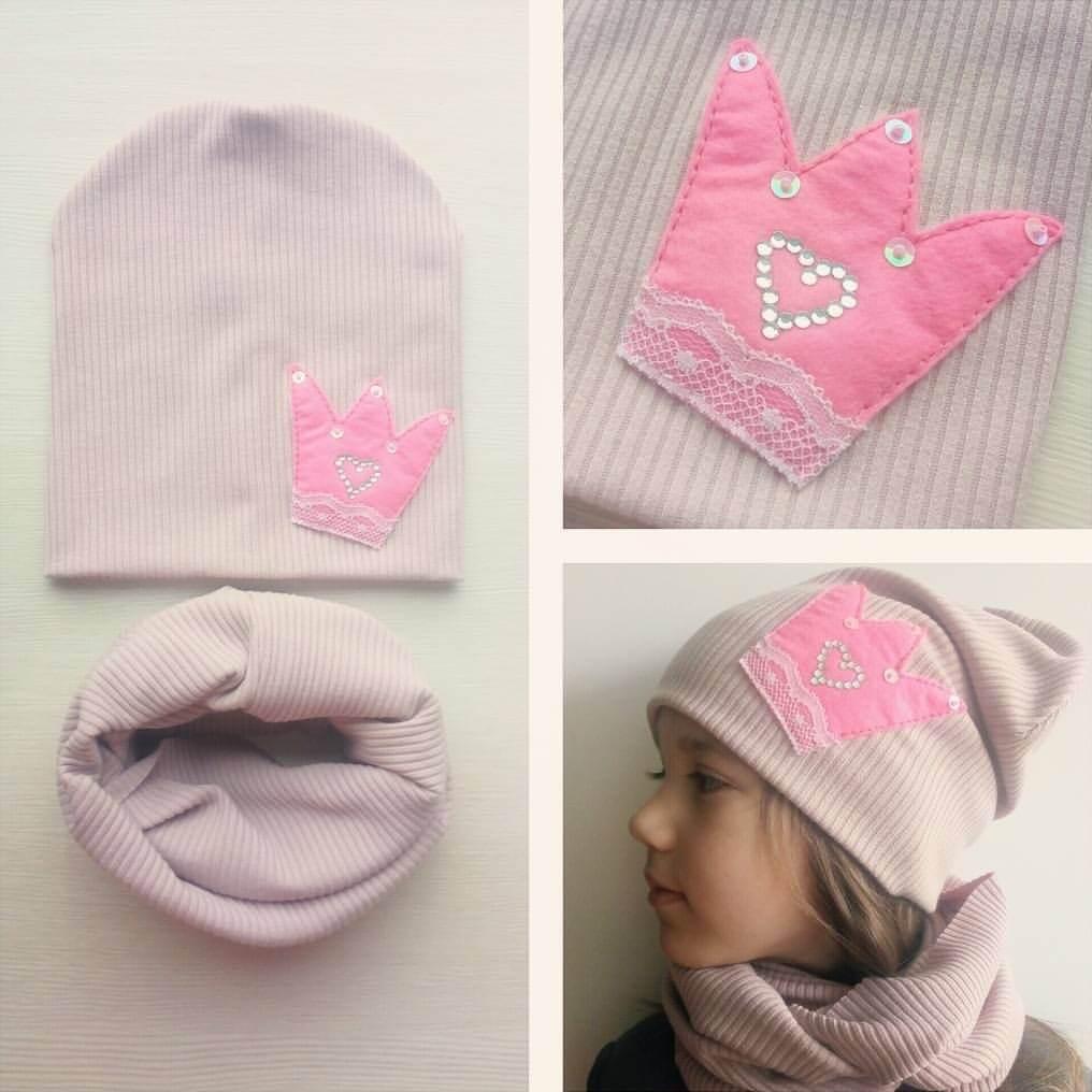 Детские шапки и снуды своими руками