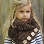 Связать детский шарф снуд спицами — проще простого