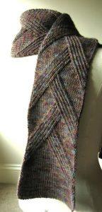Мужской шарф классический