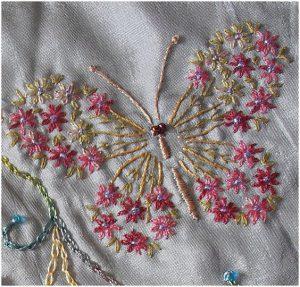 Схемы для вышивки одежды бисером