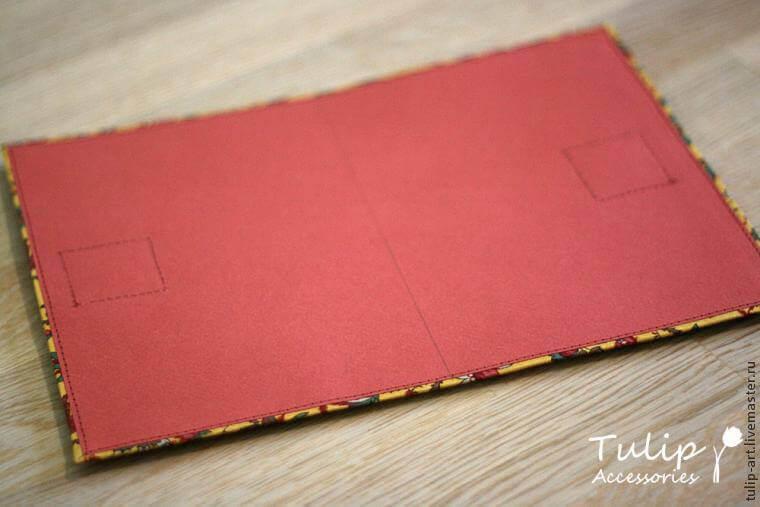 Блокнот с тканевой обложкой мастер-класс