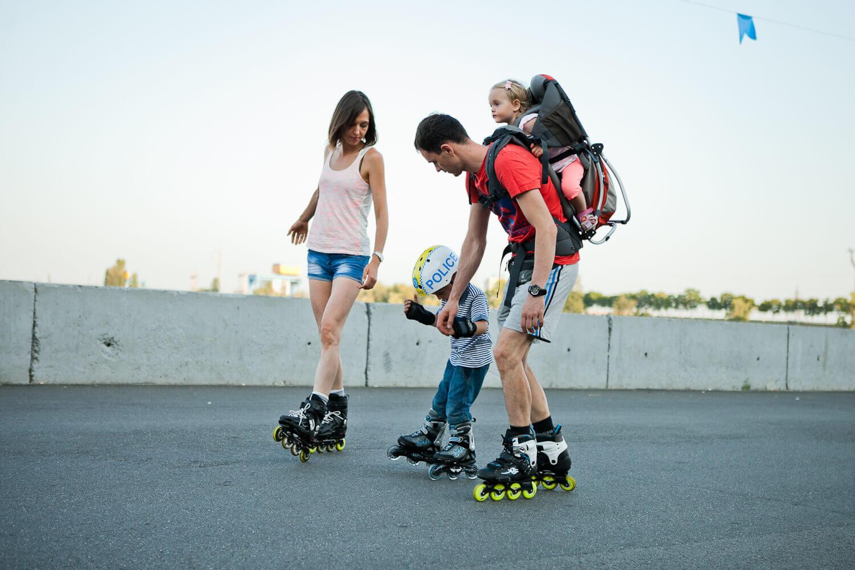 Как выбрать детские роликовые коньки