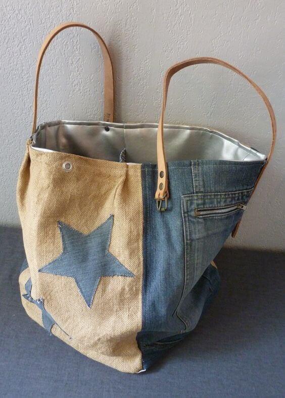 231ad96d6cef Сшить сумку из старых джинсов - выкройки и мастер-классы для вас!