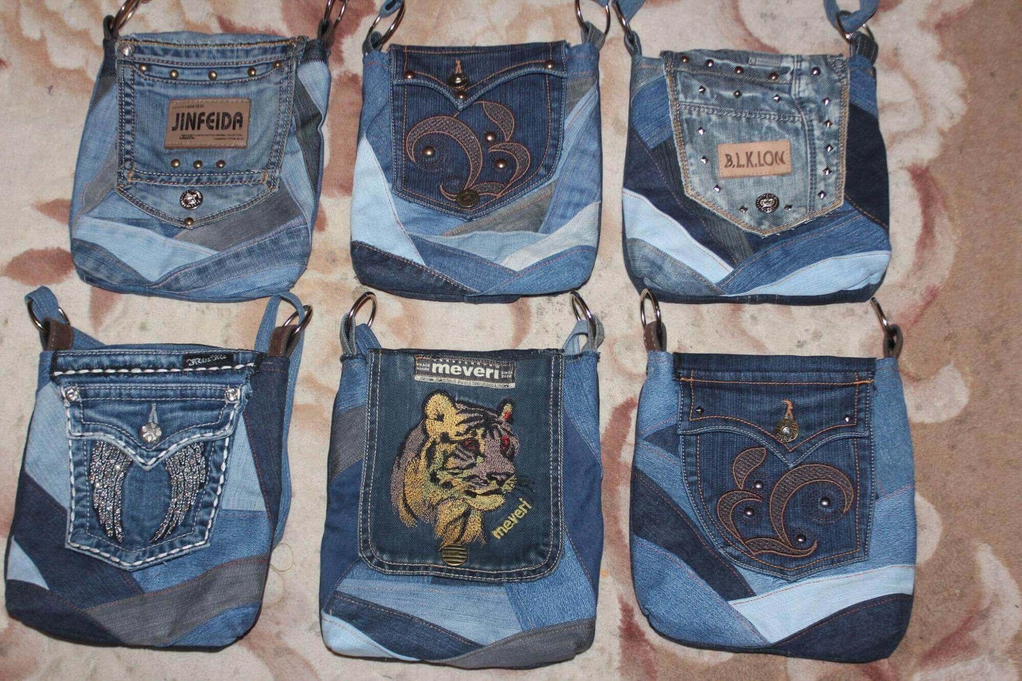 97b0a0fc2ba Сшить сумку из старых джинсов - выкройки и мастер-классы для вас!
