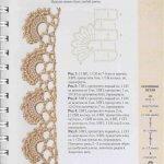 Схемы для вязания чокеров крючком