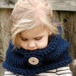 Детский шарф спицами — новинки схемы мк