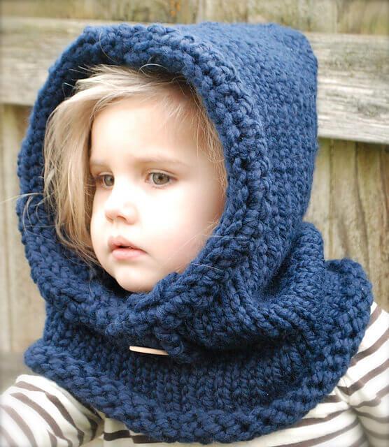 Детский шарф спицами - новинки схемы мк