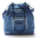Рюкзак из старых джинсов — выкройки мастер-классы