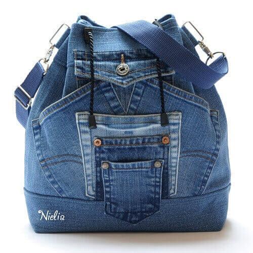 9229c003e584 Как сшить рюкзак из старых джинсов своими руками (выкройки)