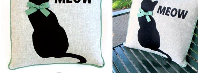 Как сшить наволочку на подушку - мастер классы и шаблоны