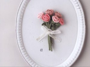 Схемы и мастер-класс для роз и цветов
