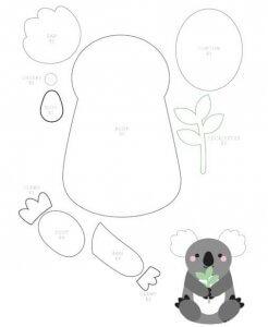Ключница Мишка-панда