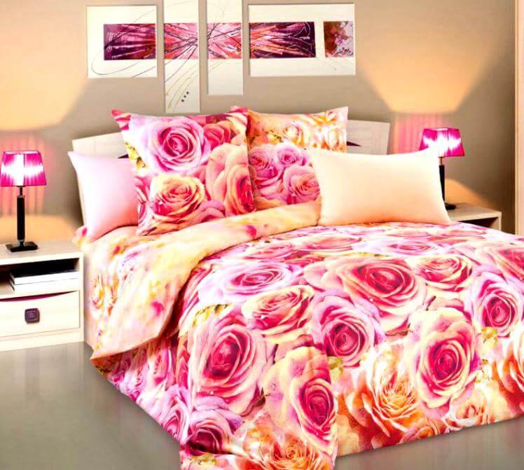 Постельное бельё. Обновление вашей спальни с новым постельным бельем