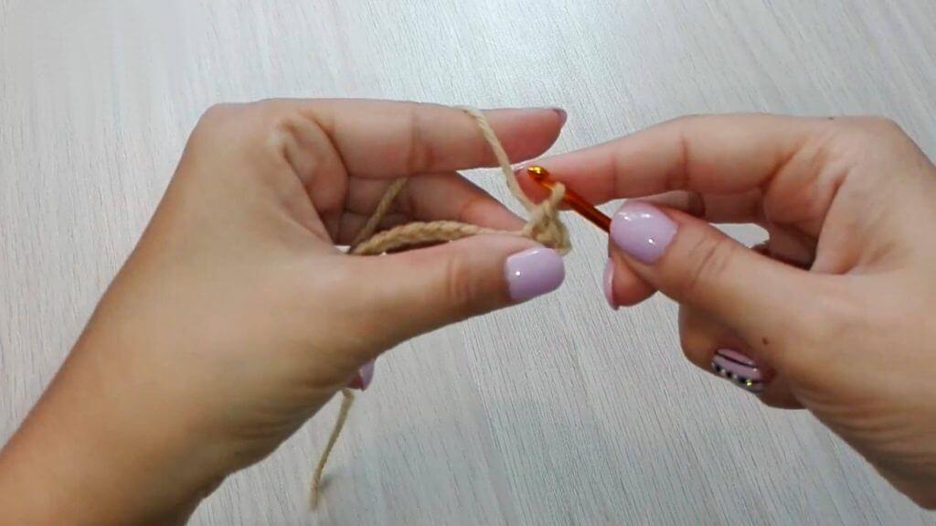 Повязка на голову крючком - схемы для начинающих