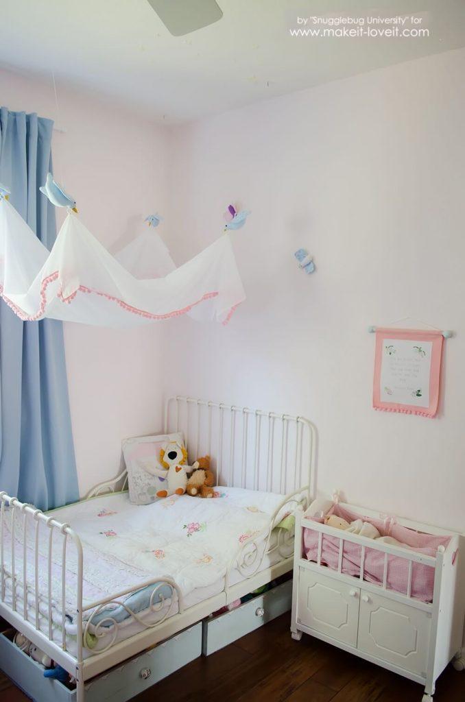 Выкройка балдахина на детскую кроватку своими руками фото 31