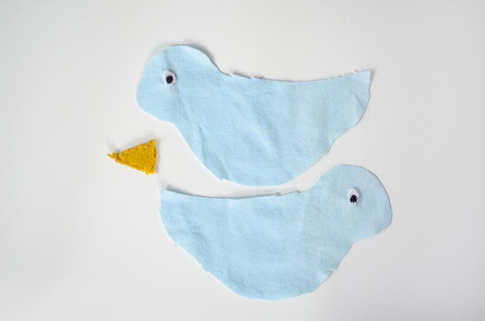 Как сшить балдахин на детскую кроватку - выкройка с птичками