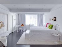 Стиль минимализм в интерьере спальни