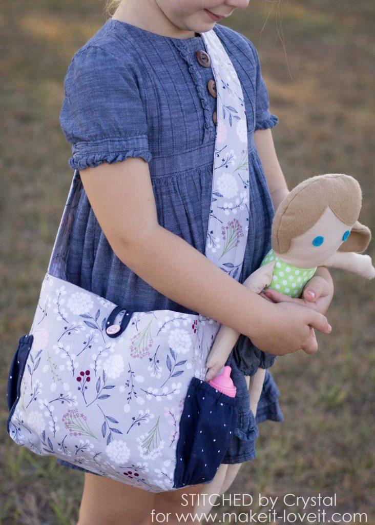 63dab0382295 Модная сумочка для девочки - мастер-классы и супер-выкройки!