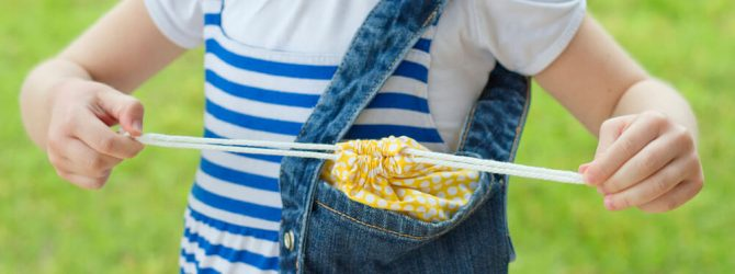 Быстро и просто! Сумочка из джинсов своими руками для девочки (мастер-класс)