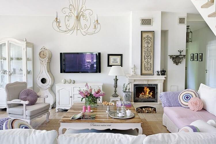 - Romantisches wohnzimmer ...